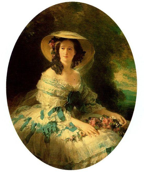 Eugenie de Montijo, Empress of France - Franz Xaver Winterhalter