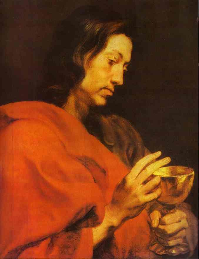 Evangelist John - Anthony van Dyck