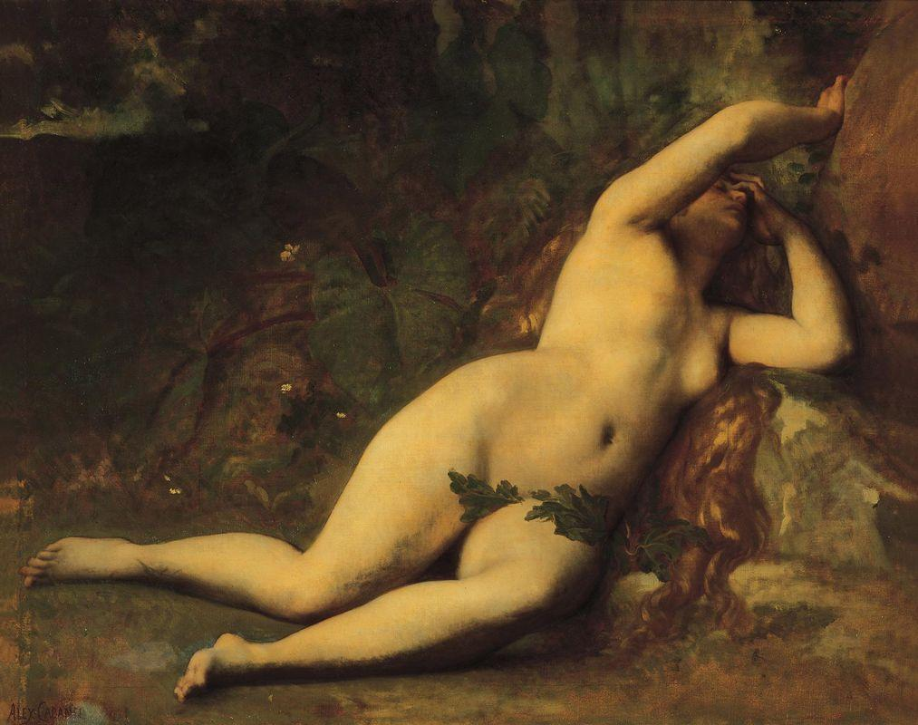 Eve After the Fall - Alexandre Cabanel