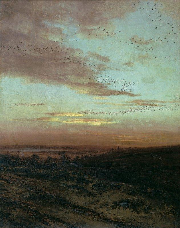 Evening Migration of birds - Aleksey Savrasov