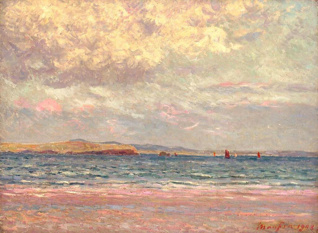 Evening, Morgat Beach - Maxime Maufra