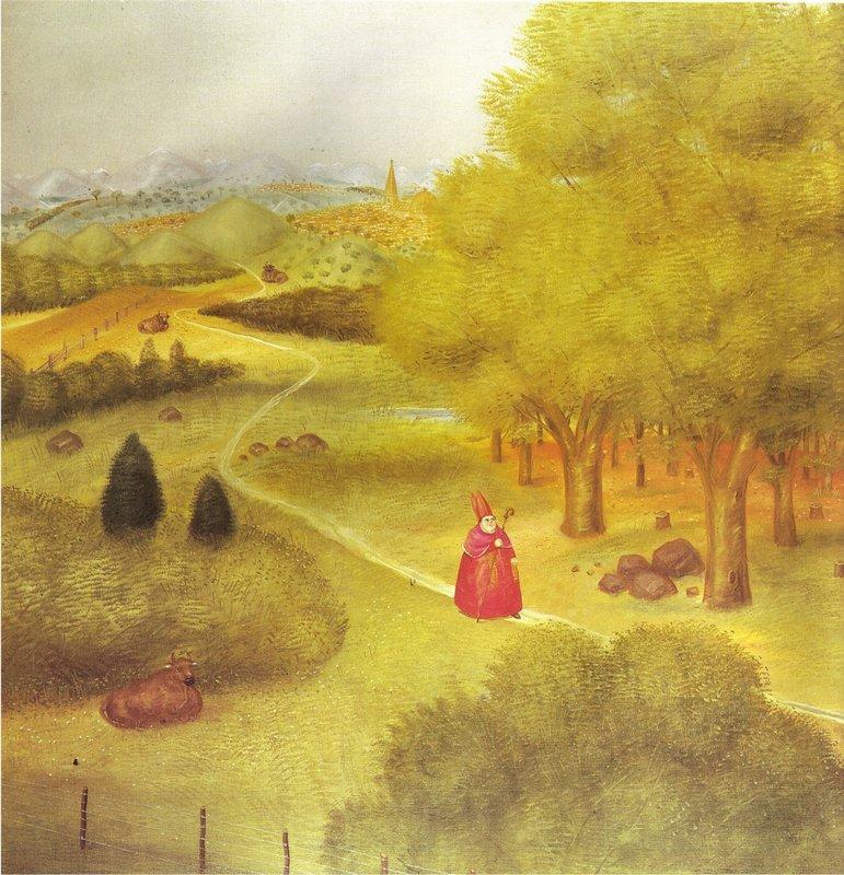 Excursion to the Ecumenical Cioncile - Fernando Botero