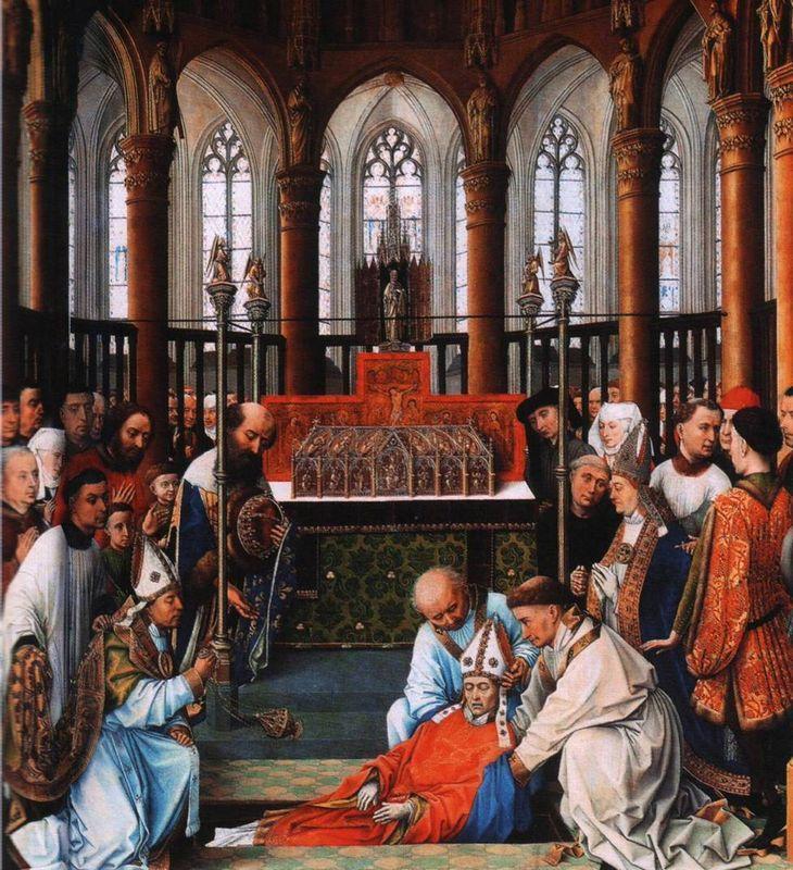 Exhumation of Saint Hubert - Rogier van der Weyden