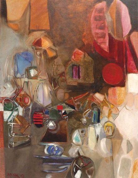 Experience-Untitled - Avigdor Arikha