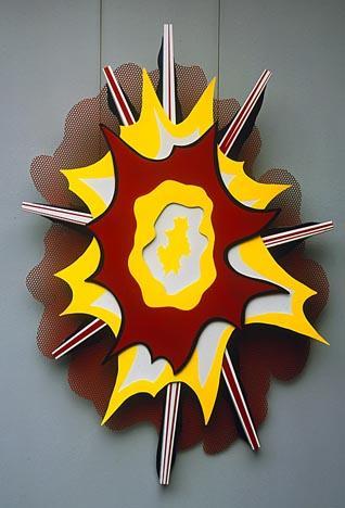 Explosion I - Roy Lichtenstein