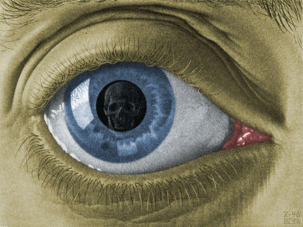 Eye Colour - M.C. Escher