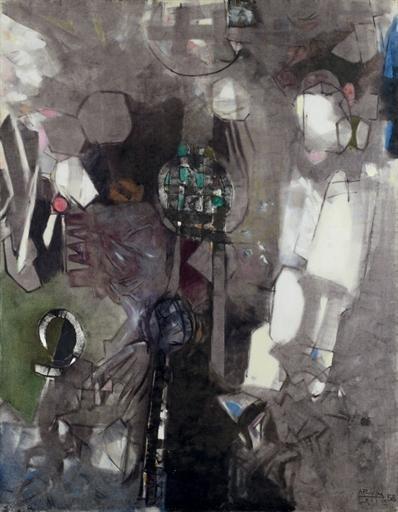 Faces No.5 - Avigdor Arikha