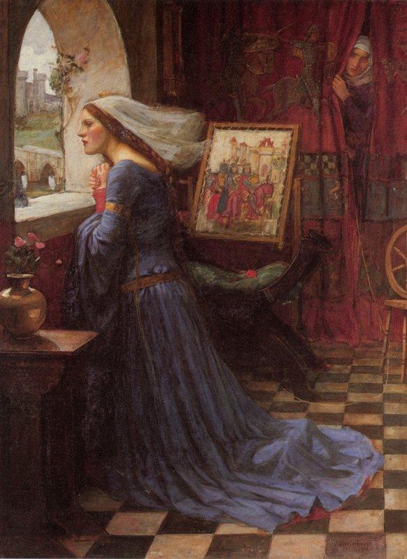 Fair Rosamund - John William Waterhouse