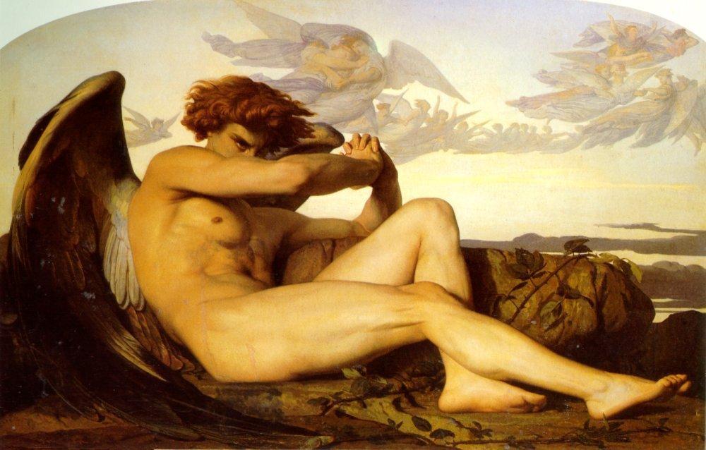 Fallen Angel - Alexandre Cabanel