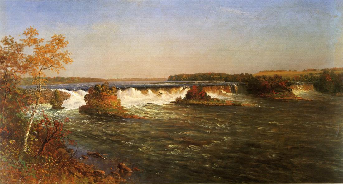 Falls of Saint Anthony - Albert Bierstadt