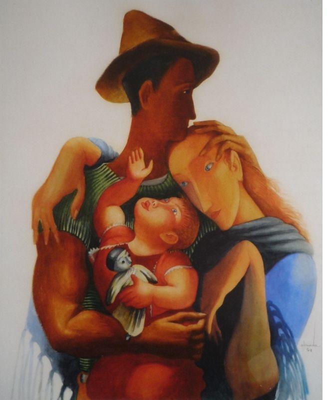 Family - Jose de Almada-Negreiros