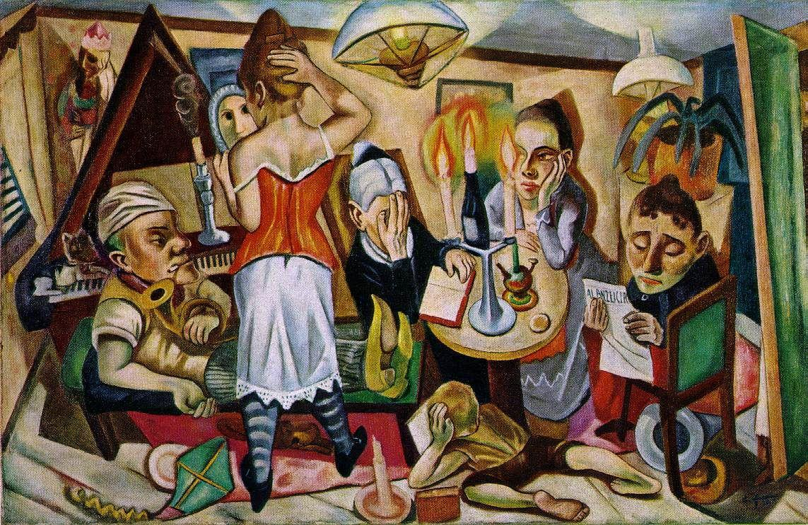 Family Picture - Max Beckmann
