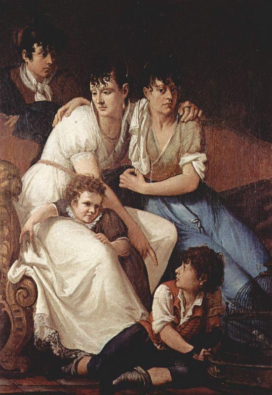 Family portrait - Francesco Hayez