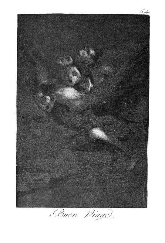 Farewell - Francisco Goya