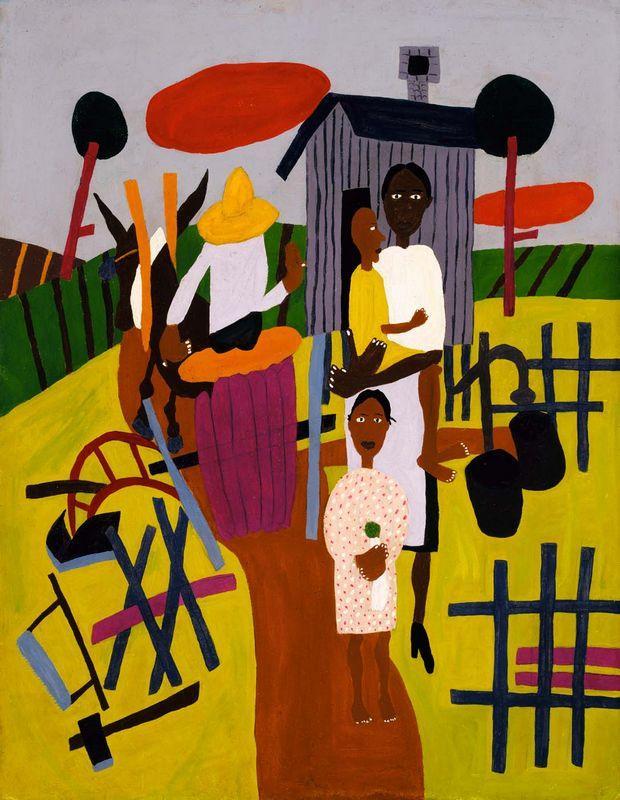 Farm Family - William H. Johnson