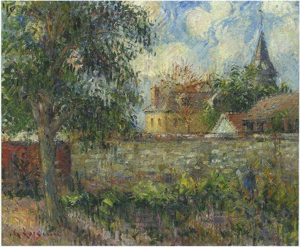Farm in Normandy - Gustave Loiseau
