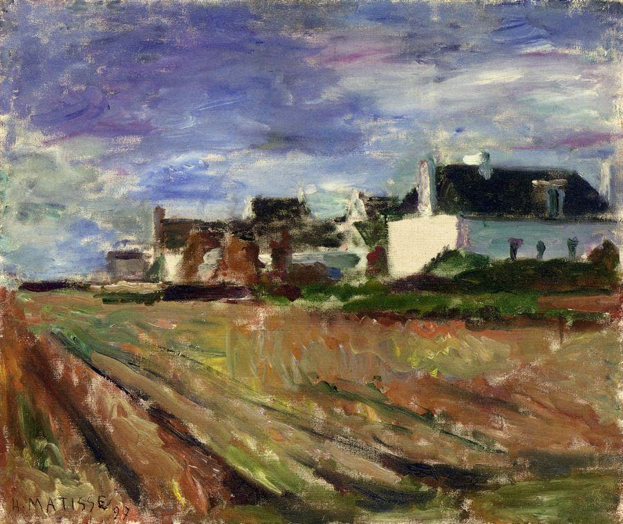 Farms in Brittany, Belle Ile - Henri Matisse