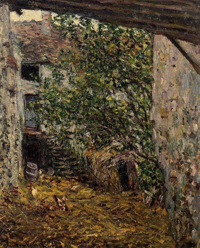 Farmyard - Camille Pissarro