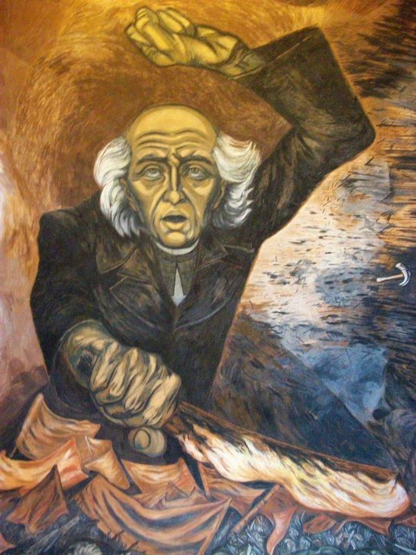 Father Hidalgo - Jose Clemente Orozco