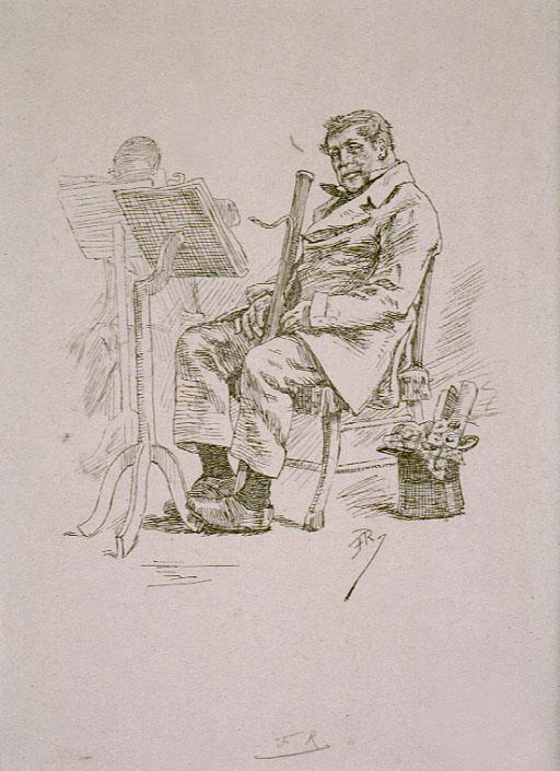 Father Muck - Felicien Rops