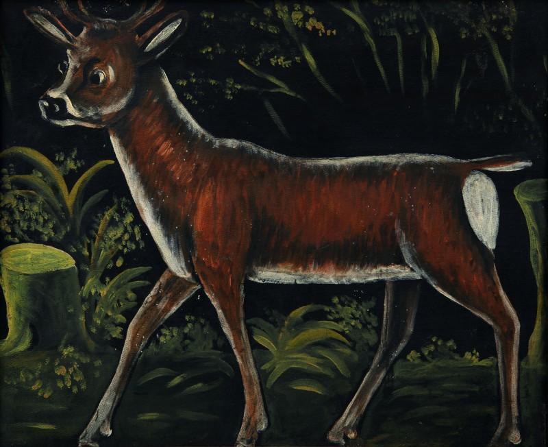 Roe deer fawn - Niko Pirosmani