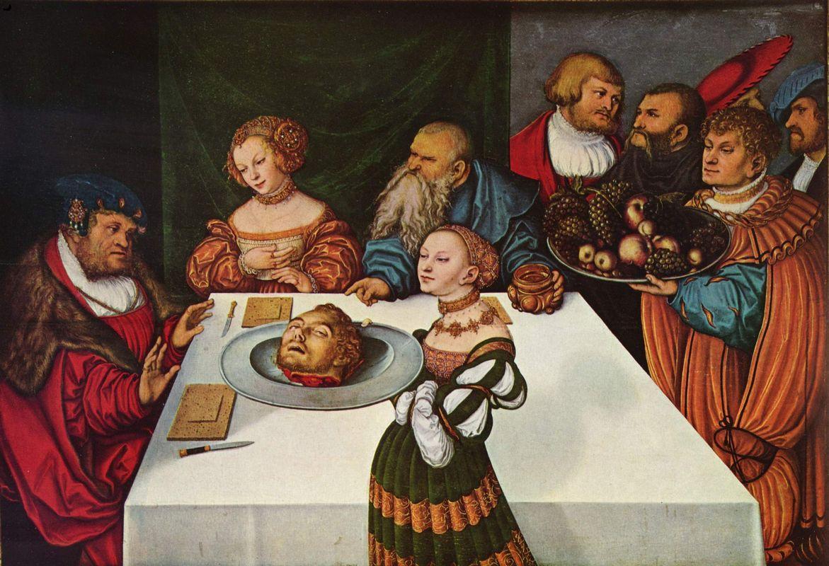 Feast of Herod - Lucas Cranach the Elder