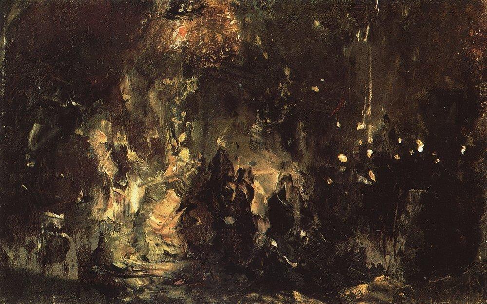 Feast of of the Prodigal Son - Vasily Polenov