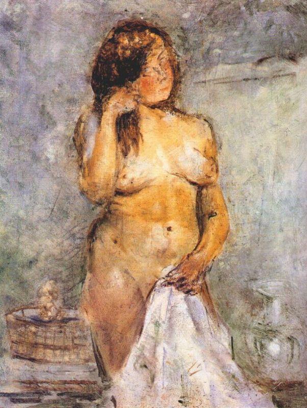 Female Bather - Salvador Dali