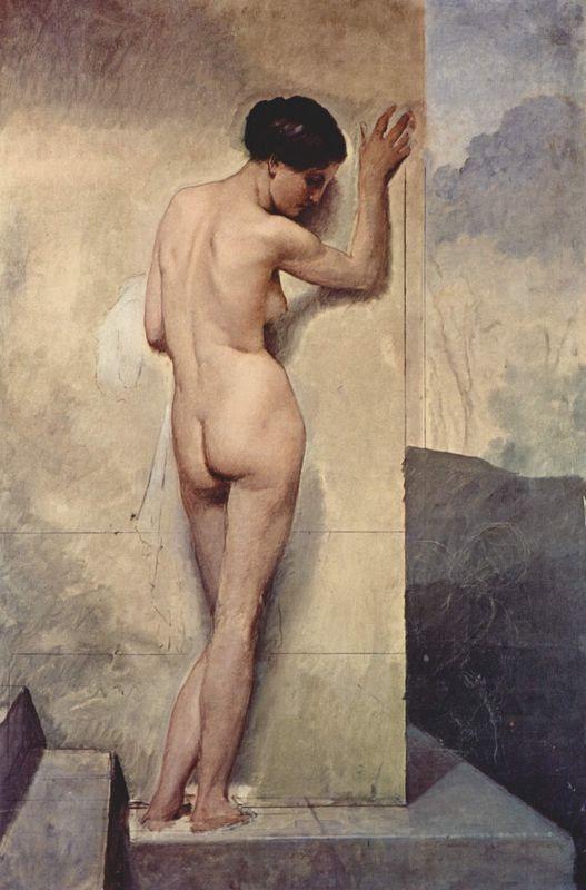 Female nude - Francesco Hayez