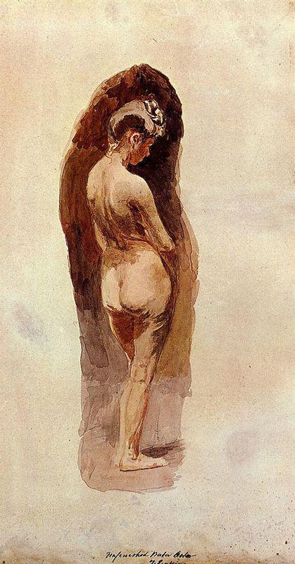 Female Nude - Thomas Eakins