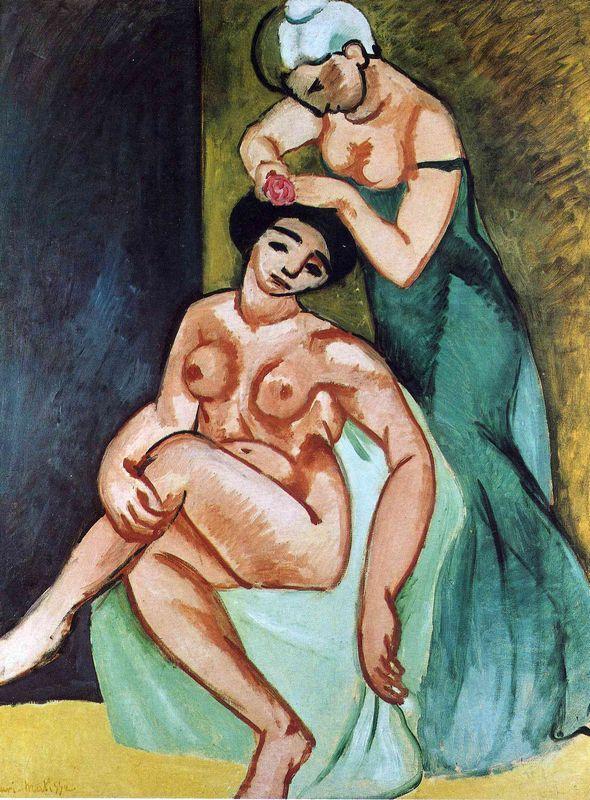 Female toilets - Henri Matisse