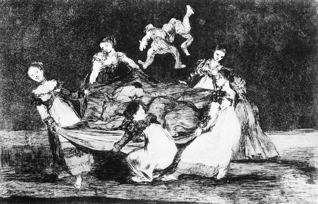 Feminine Folly - Francisco Goya