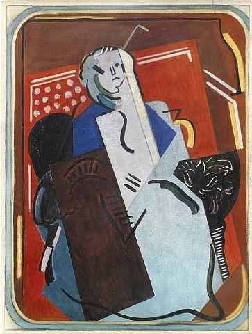 Femme au Fauteuil - Albert Gleizes