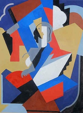 Femme Cubiste - Albert Gleizes