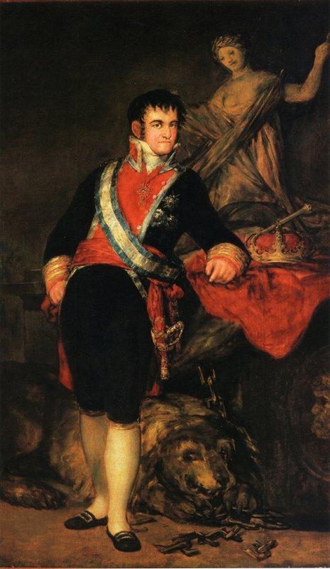 Fernando VII - Francisco Goya