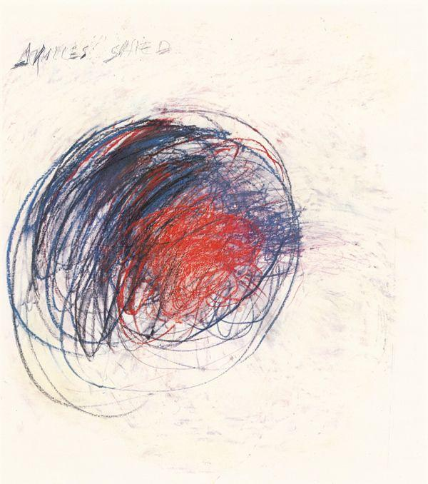 Fifty Days at Iliam. Shield of Achilles - Cy Twombly
