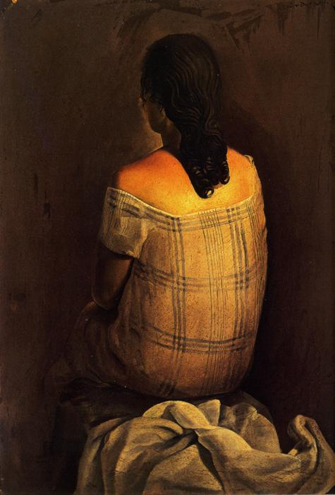 Figure from the Back - Salvador Dali