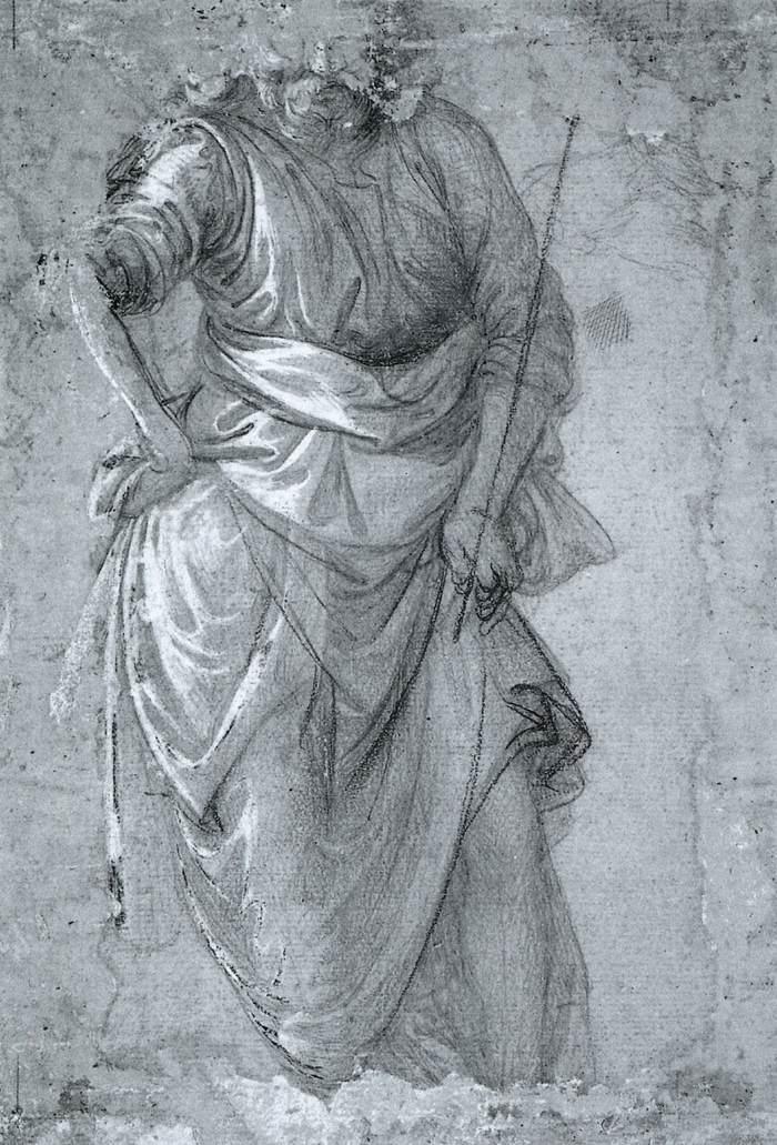 Figure study - Filippo Lippi