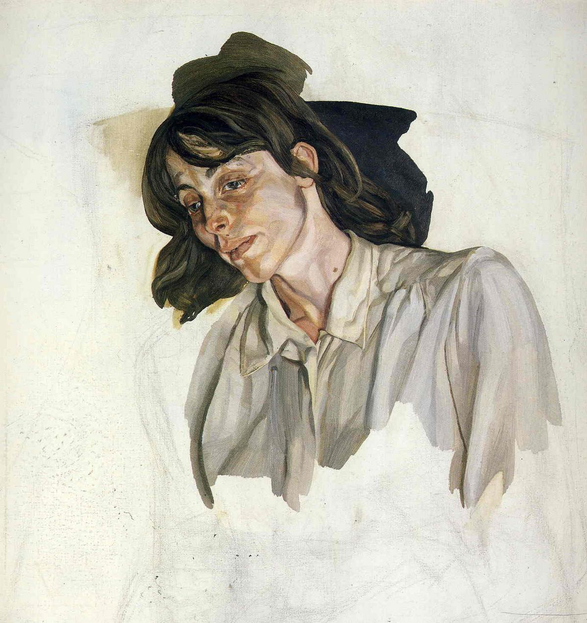 Final Portrait - Lucian Freud