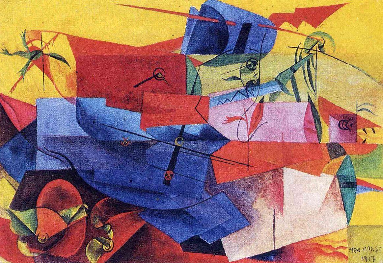 Fish fight - Max Ernst