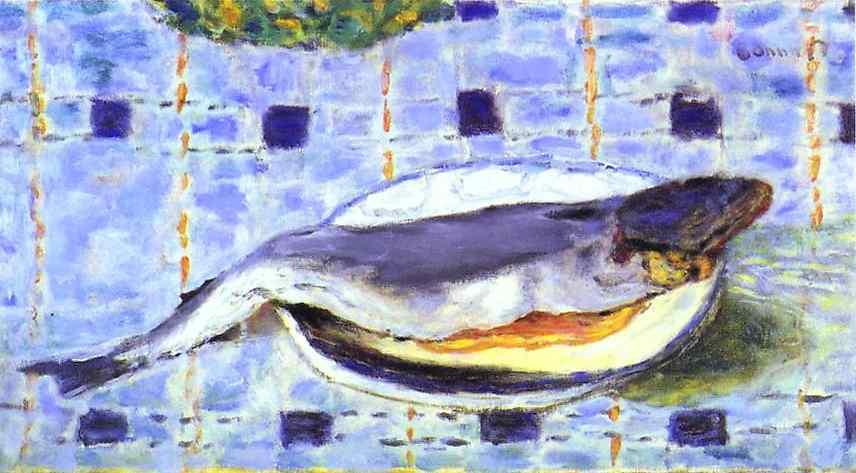 Fish in a Dish - Pierre Bonnard