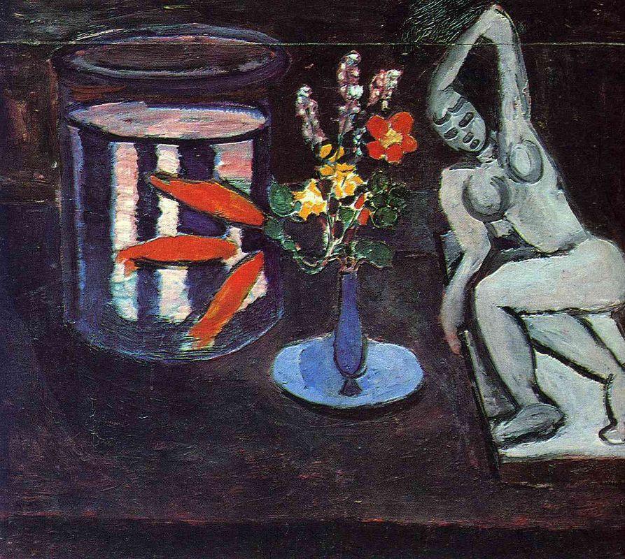 Fish tank in the room - Henri Matisse