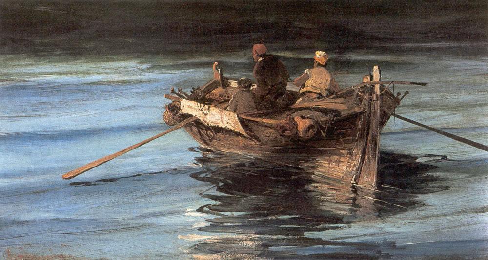 Fishing boat - Konstantinos Volanakis