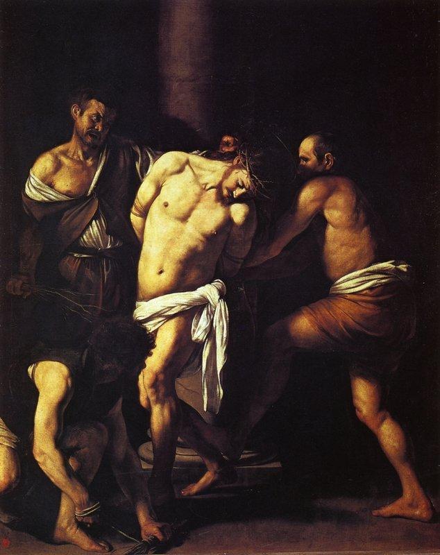 Flagellation of Christ - Caravaggio