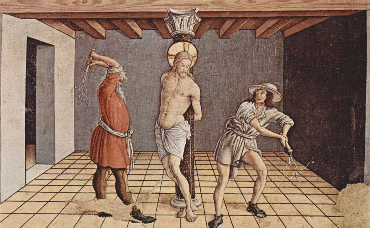 Flagellation of Christ - Carlo Crivelli