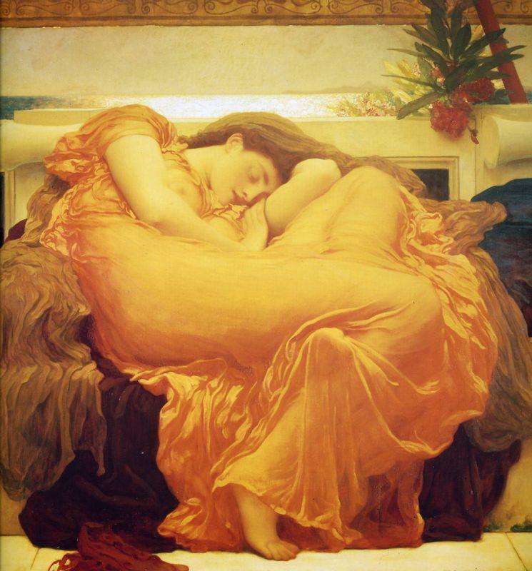 Flaming June - Frederic Leighton