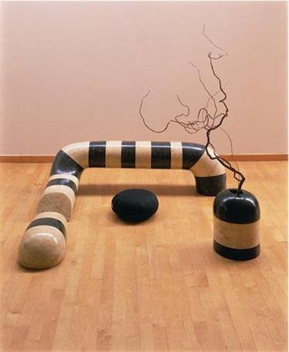 Floor Frame (Remembering India) - Noguchi Isamu