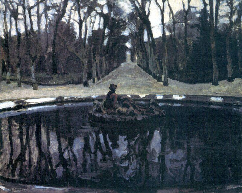 Flora Pool in Versailles - Alexandre Benois