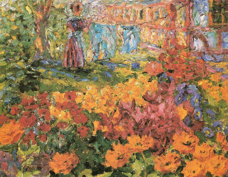 Flower Garden - Emil Nolde