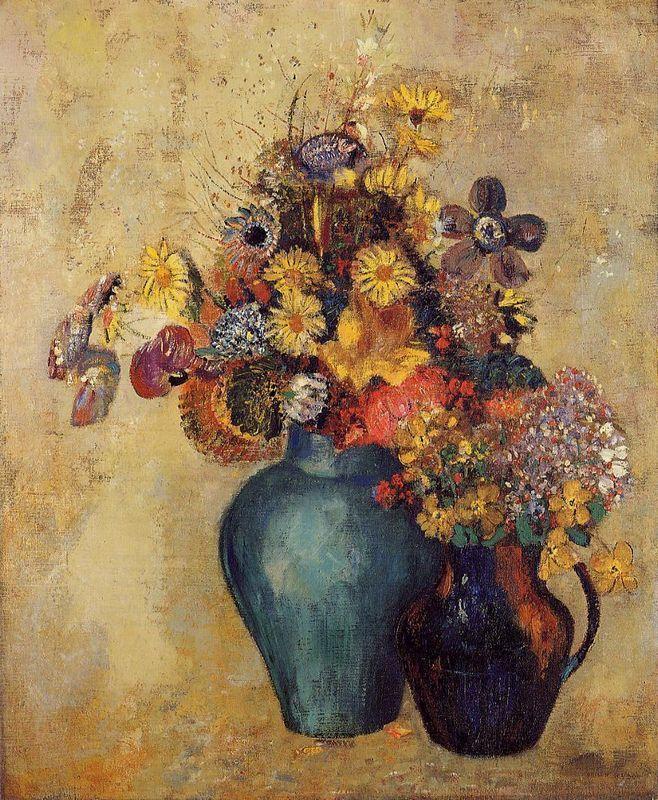 Flowers 1 - Konstantin Makovsky